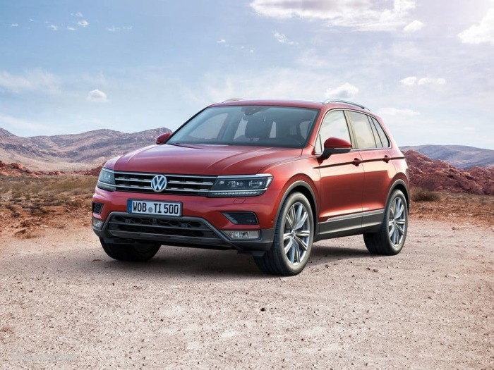Наконец Volkswagen Tiguan. ¦Фото: vk.com.