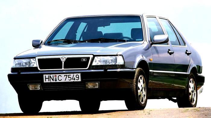 Скромный на вид Lancia Thema.