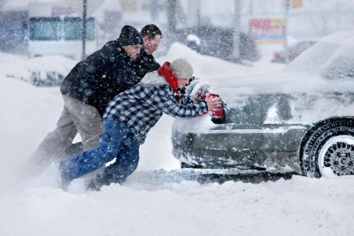 Готовимся к зиме, автомобилисты.