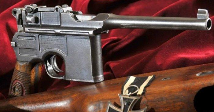 Немцы активно продавали пистолеты по всему миру. |Фото: ucrazy.ru.