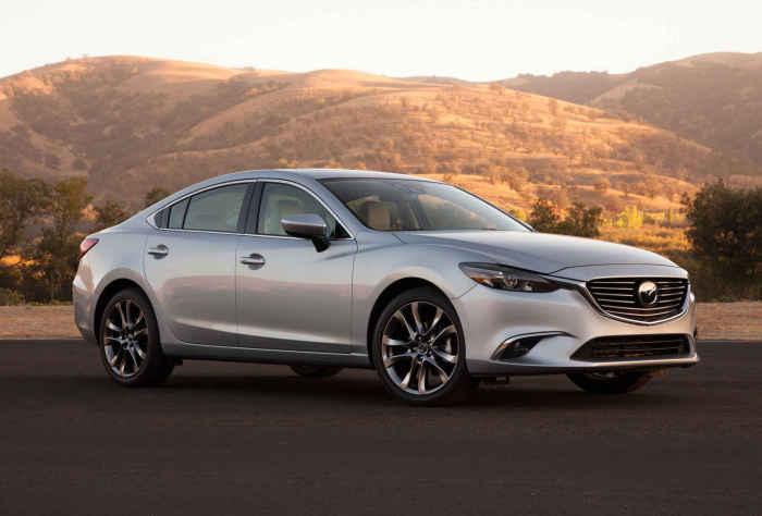 Mazda 6:  седан, хетчбэк и универсал.