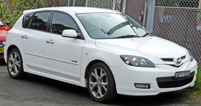 Mazda3 2009.