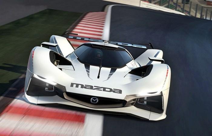 Виртуальный прототип Mazda LM55.