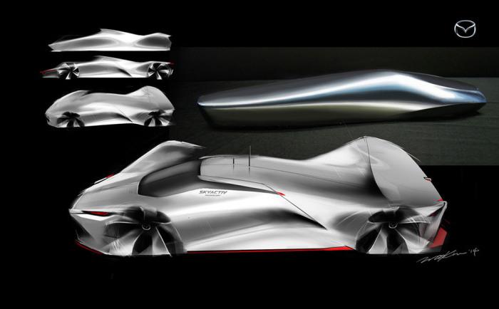 Геометрия Mazda LM55.