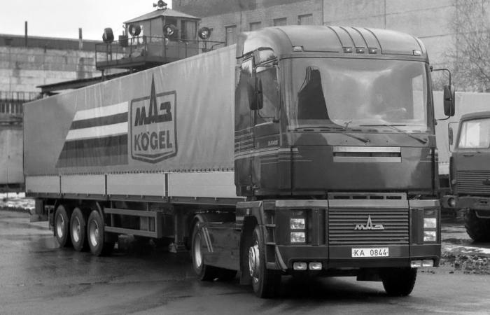 История одного грузовика.