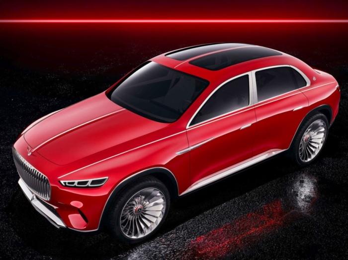 Покажут Vision Mercedes-Maybach совсем скоро.