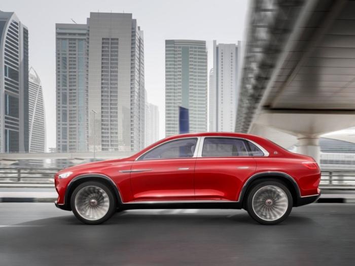 Выглядит Vision Mercedes-Maybach действительно круто.
