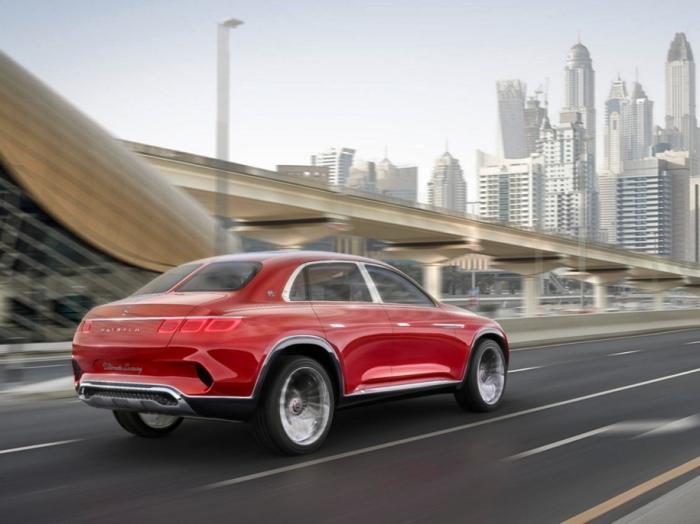 Над дизайном Vision Mercedes-Maybach работали лучшие.