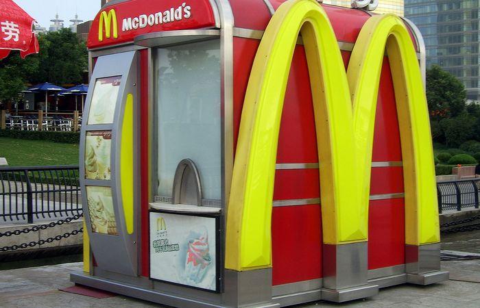 McDonald's в Шанхае.