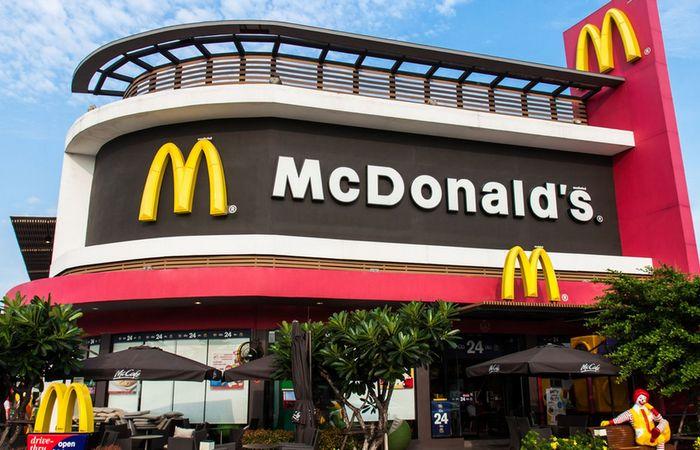 Австралийский ресторан McDonald's.