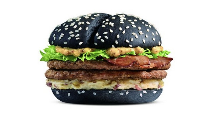 Black and White Burger.