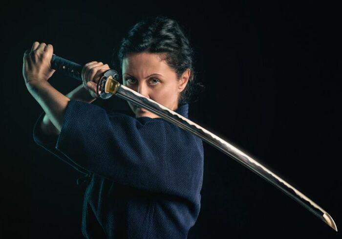 Начать стоит с того, что катана - это сабля, а не меч. |Фото: Pinterest.
