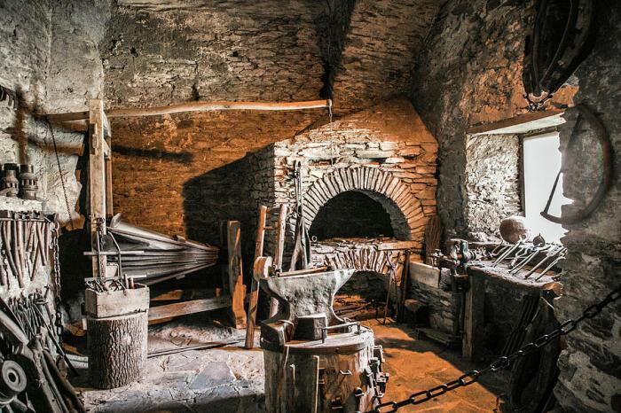 В Старом Свете железа было хоть отбавляй. |Фото: fineartamerica.com.