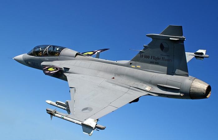 Аэрокосмический мегапроект: JAS 39 Gripen.
