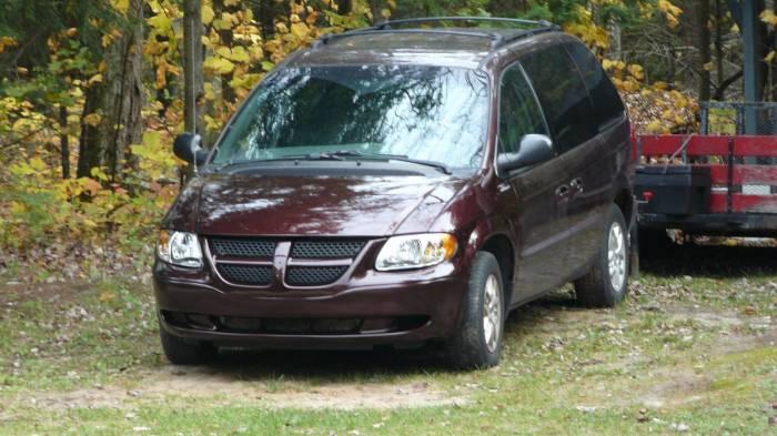 Скромный автомобиль. |Фото: dodgecaravanforum.com.