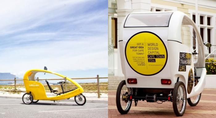 Бесплатное велотакси.