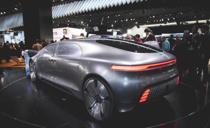 Mercedes F 015 Luxury - взгляд в будущее.