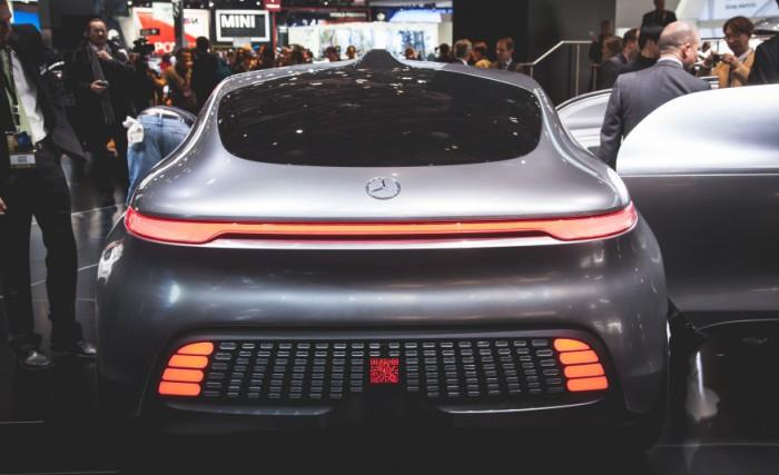 Капсулообразный суперконцепт F 015 Luxury.