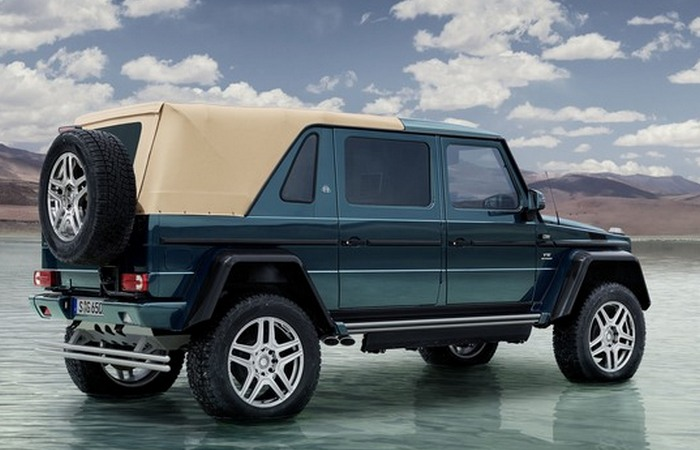 Профиль Mercedes-Maybach G650 Landaulet.