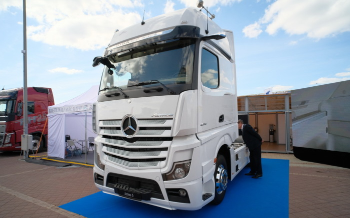 Выглядит грузовик очень круто. ¦Фото: tut.by.