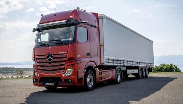 Инновации добрались и до грузовиков.