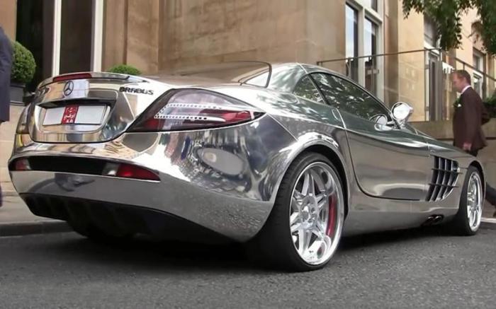 Спортивный автомобиль SLR McLaren V10 Quad Turbo Brabus