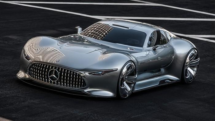 C112 Concept, Vision SLR Concept и AMG Vision GT Concept