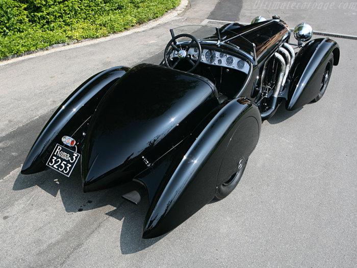SSK Roadster - культовый автомобиль прошлого столетий.