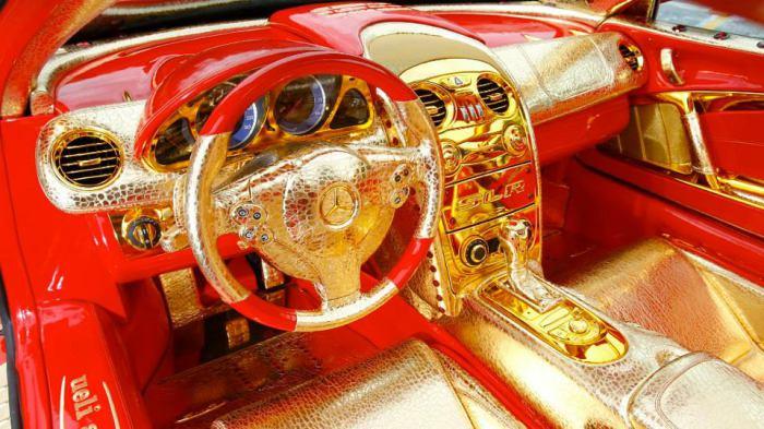 SLR MacLaren Red Gold Dream - золотая мечта от Mercedes.