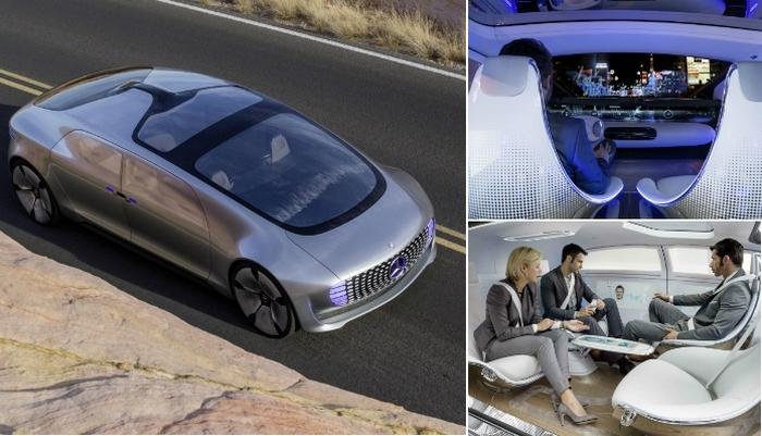 Технологии будущего в действии: самоуправляемый Mercedes-Benz.