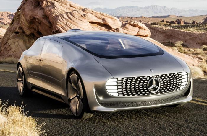 Mercedes-Benz F 015 Luxury In Motion - роскошь в движении.
