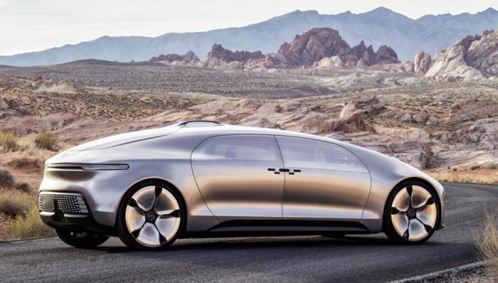 Самоуправляемый концепт от Mercedes-Benz.
