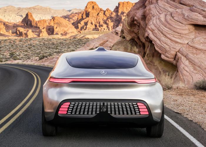 Mercedes-Benz F 015 Luxury In Motion: высокий дизайн и высокие технологии.