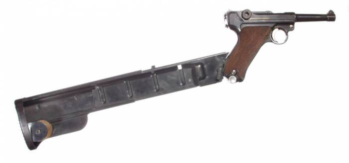 Пристегнута к пистолету. ¦Фото: topwar.ru.