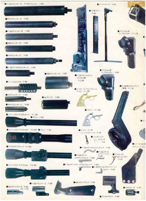 Японский каталог изделий завода. ¦Фото: topwar.ru.