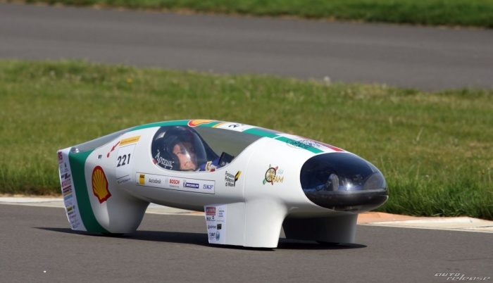 Microjoule - самый экономичный в мире автомобиль.