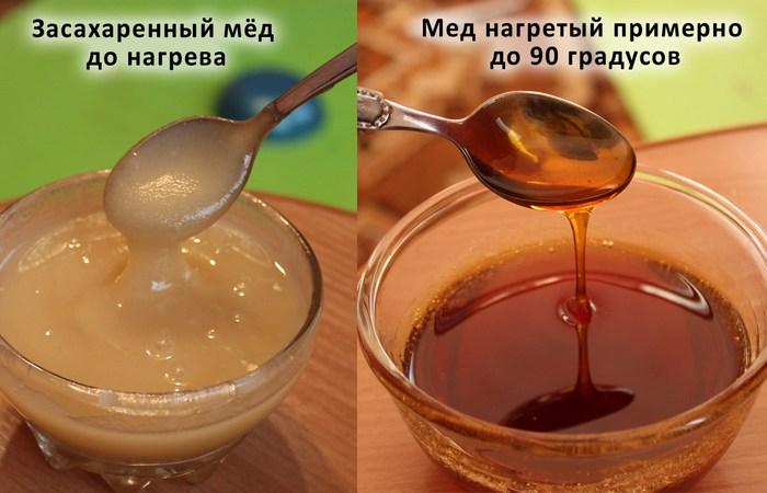 Микроволновка поможет восстановить засахарившийся старый мед.