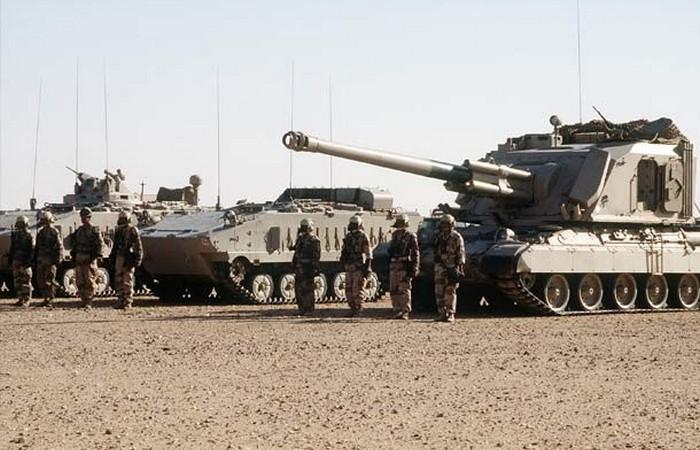 Королевские Саудовские Вооруженные силы.