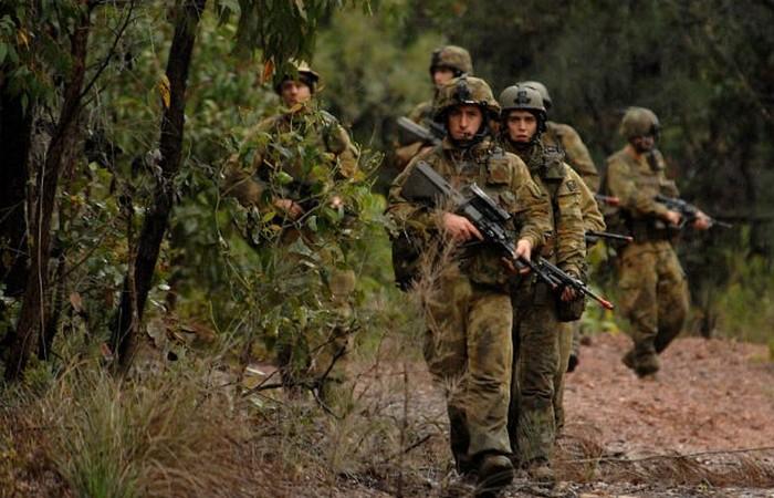 Австралийская армия.