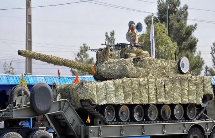 Вооруженные силы Исламской Республики Иран.