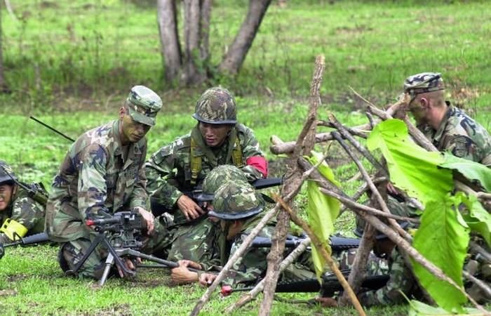 Армия Таиланда.