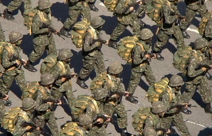 Армия Бразилии.