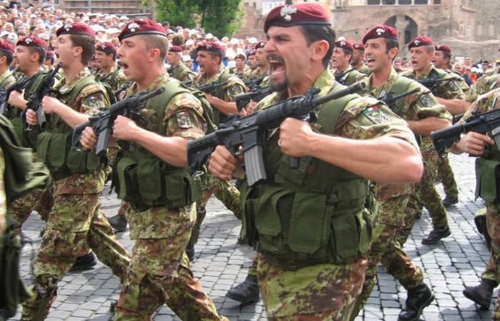 Итальянские вооруженные силы.