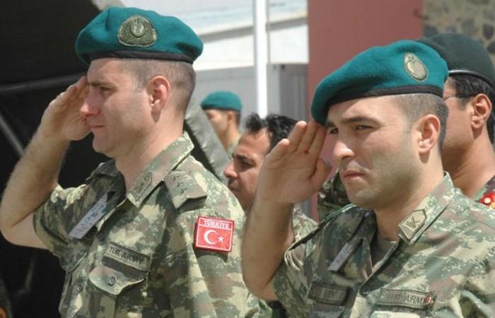 Турецкие вооруженные силы.