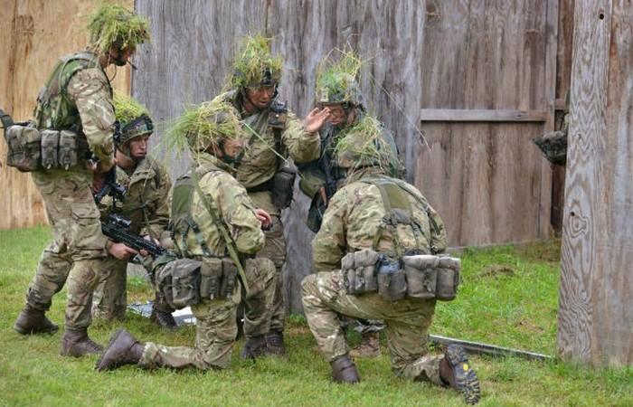 Армия Великобритании.
