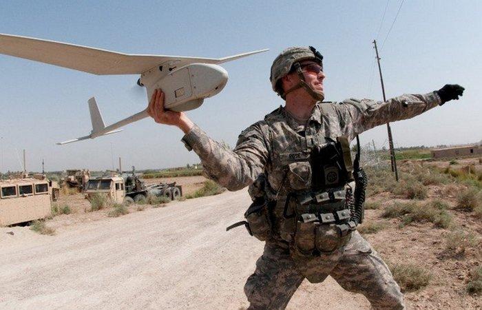 Военные беспилотные летательные аппараты.