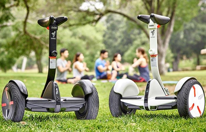 Segway MiniPro - индивидуальный электрический транспорт.