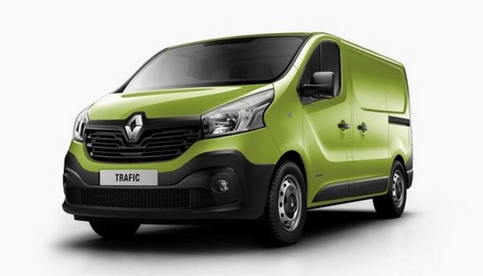 Минивэн Renault Trafic.