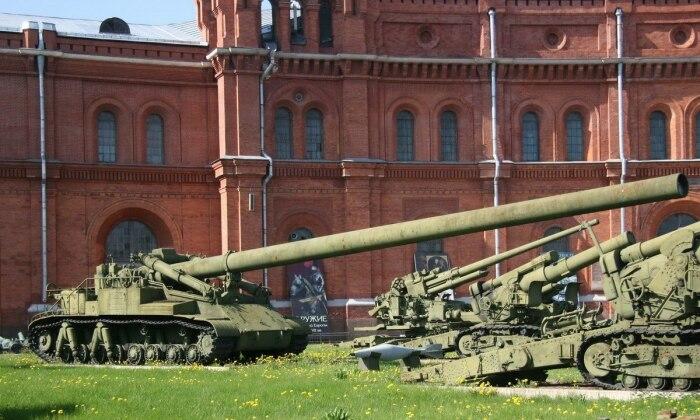 А вот советская пушка. |Фото: mirtesen.ru.
