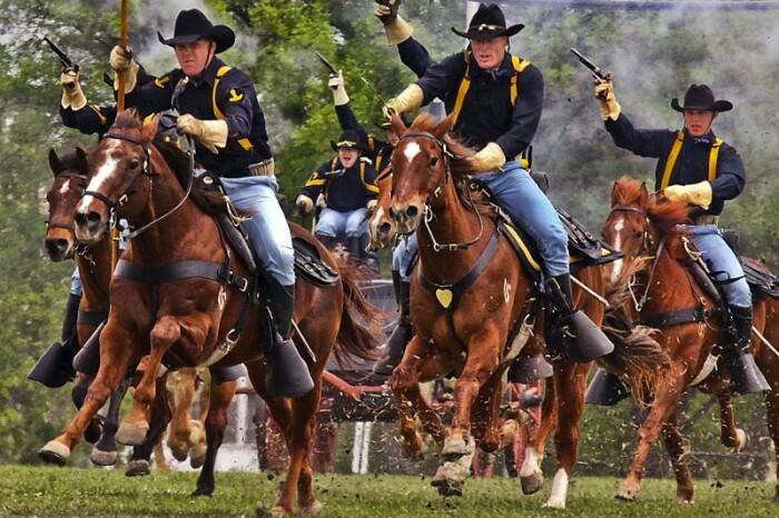 В первую очередь создавали оружие для кавалерии. |Фото: livejournal.com.